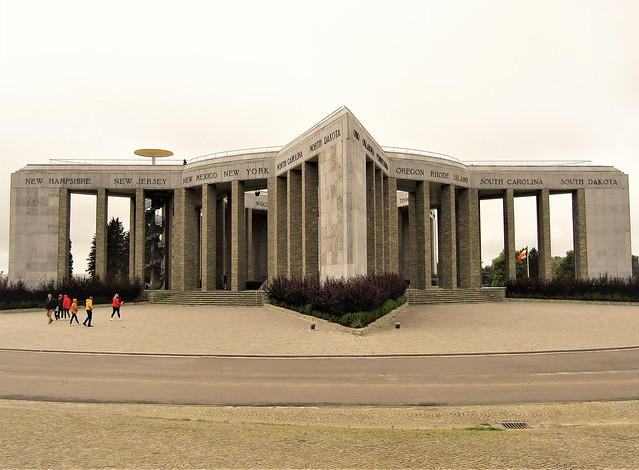Mardasson Memorial, monument in Bastogne, Belgium
