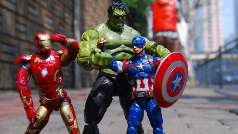 Marvel Superhero figurines