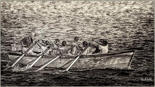 Bogando en Barbate_Rowing in barbate.
