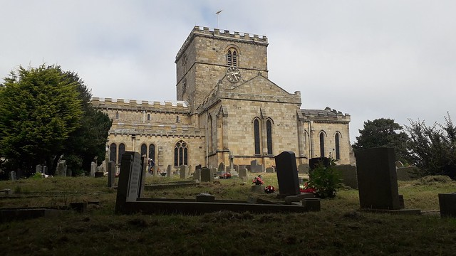 St Oswald Church Filey Yorkshire