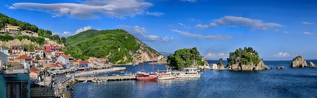 Νησάκι της Παναγίας Πάργα Isle of Virgin Mary Parga