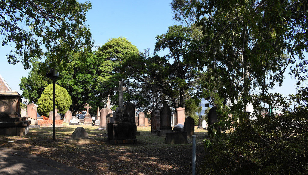 St Anne's Anglican Church Cemetery, Ryde, Sydney, NSW.