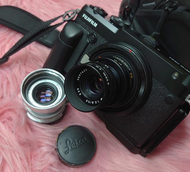 Leica Elmar 5cm f2.8 VS Elmar M 50mm f2.8