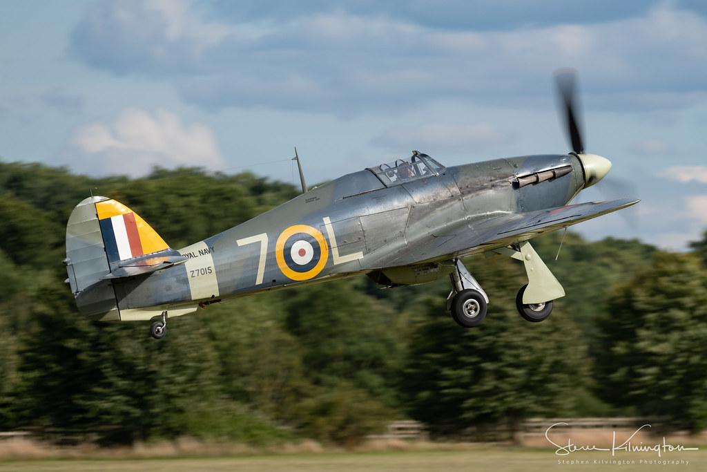 'Z7015' G-BKTH - Hawker Sea Hurricane Ib
