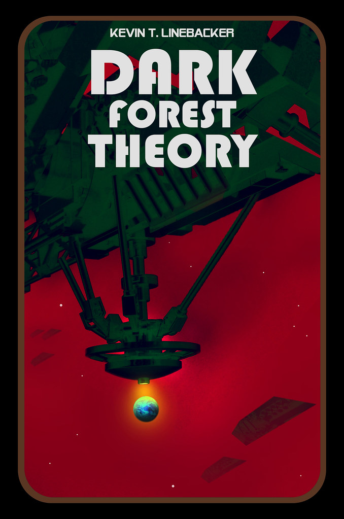 Lego book cover: Dark Forest Theory