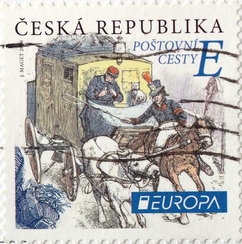 Sello Serie Europa de la República Checa del 2020