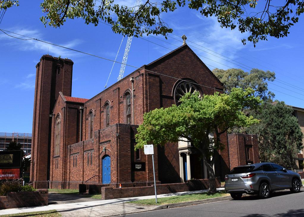 St Bede's Anglican Church, Drummoyne, Sydney, NSW.