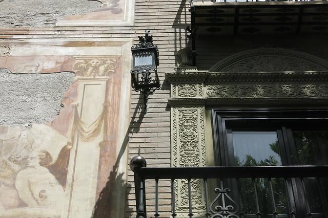Farol en fachada