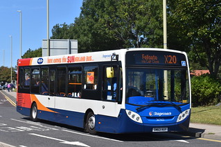 36965 SN63 VUY Stagecoach North East