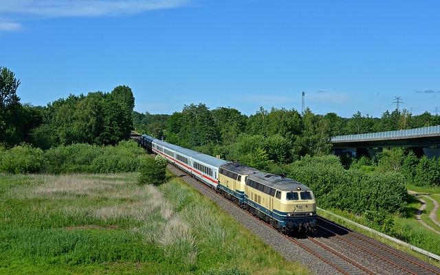 DB Railsystems 218 490-1 + 218 480-2 - Heide