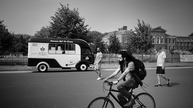 Ice Cream Van - Kensington Gardens