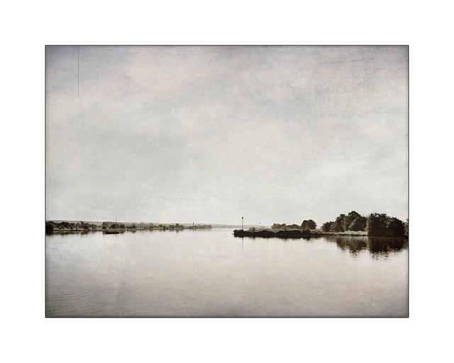 Dutch landscape / The river Neder-Rijn near Amerongen