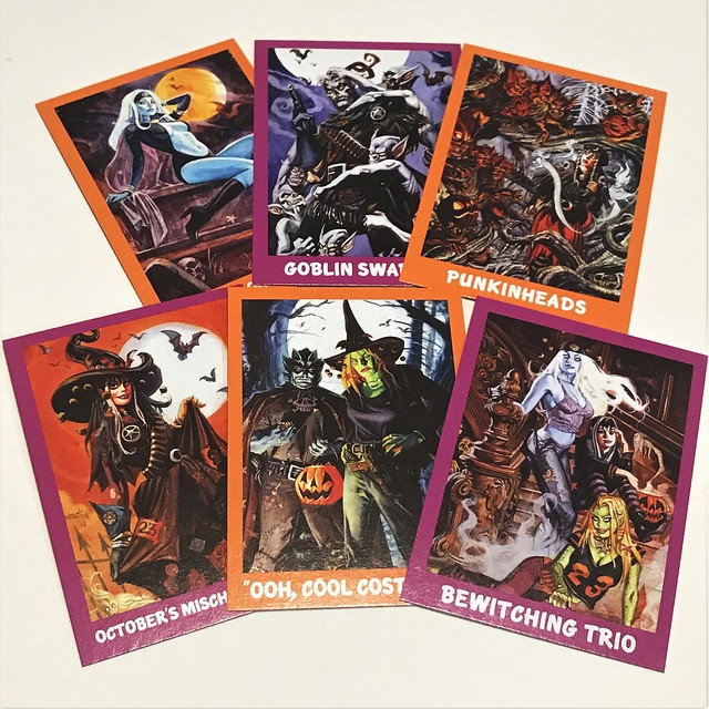 Nocturnals trading cards