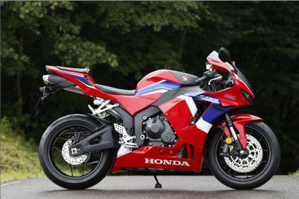 New CBR600RR 2021 RV