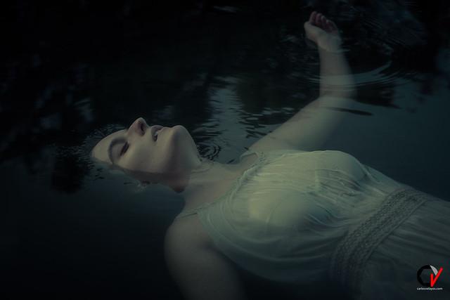 La dama del Lago. La pálida luz de la luna.