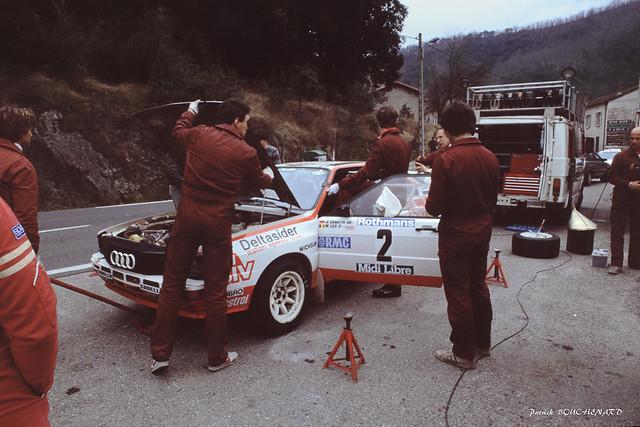 Assistance Audi Quattro