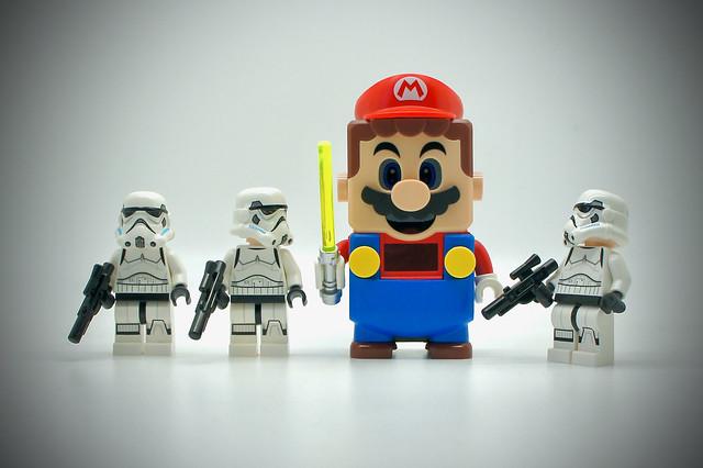 LEGO Stormtrooper Mario