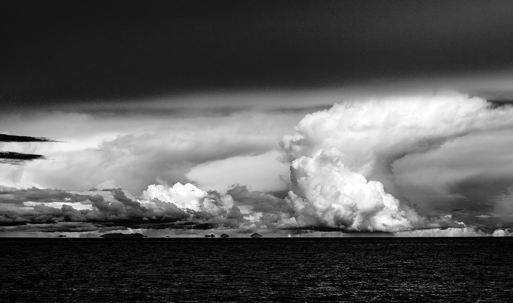 Lake Titicaca Storm Clouds.