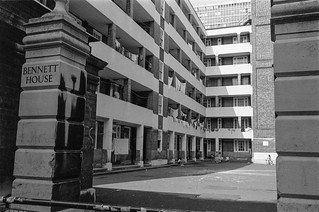 Bennett House, Page St, Westminster, 1987 87-9f-11-positive_2400