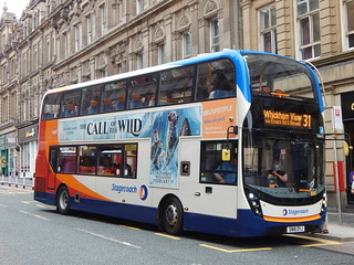 Stagecoach North East 10643 SN16 OYJ - Newcastle