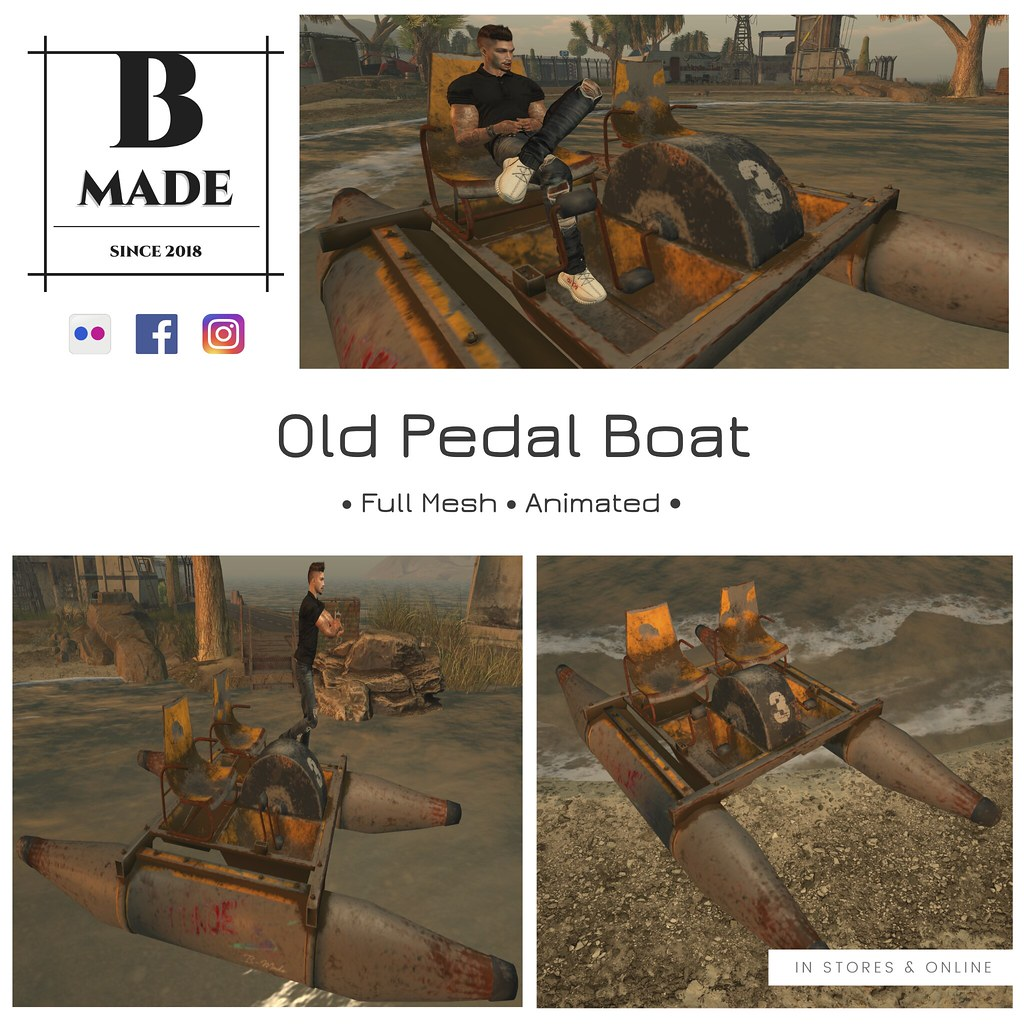 B-Made Old Pedal Boat @ Cosmopolitan from August 10th