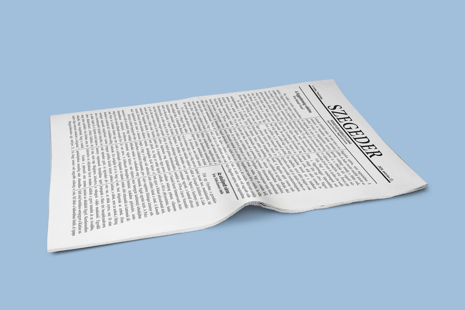 Jön az első nyomtatott Szegeder