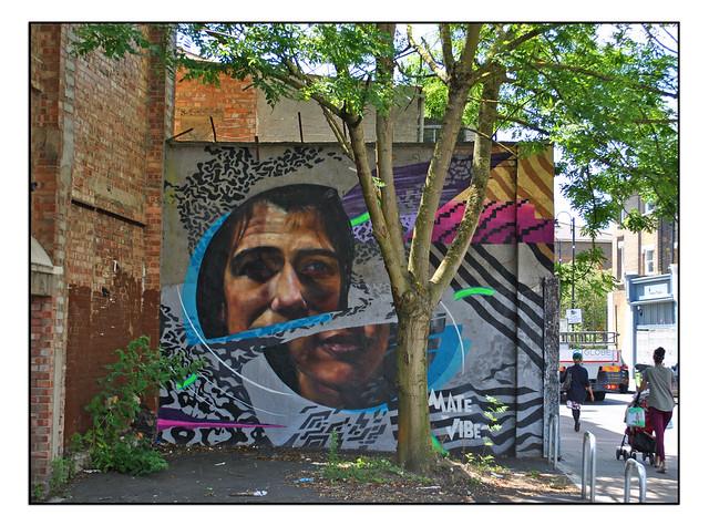 LONDON STREET ART by VIBES/MATE2