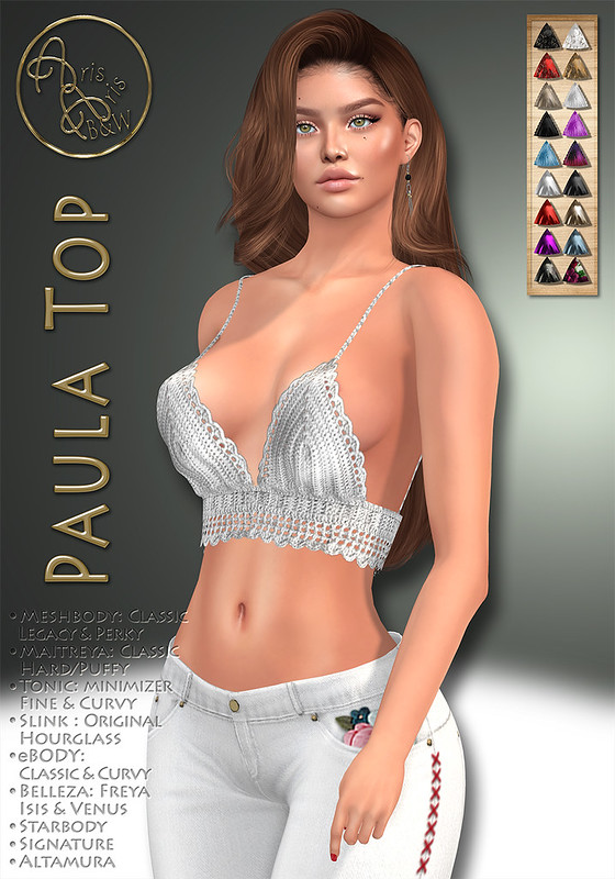 ArisArisB&W~CoAl93~Paula Top~VENDOR
