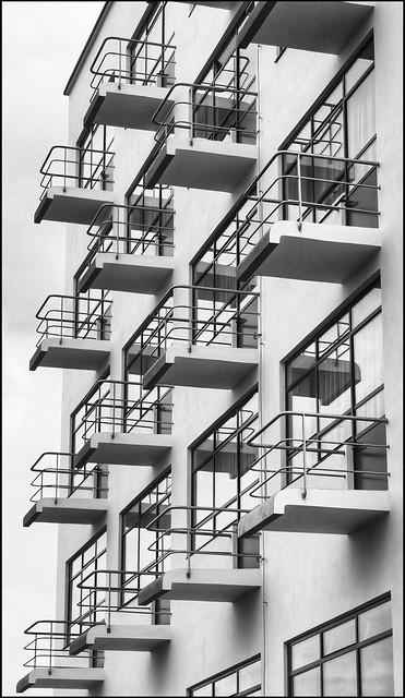 Balkone, Bauhaus Dessau