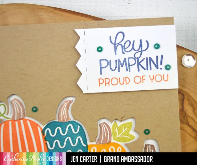 Jen Carter Hey Pumpkin Proud of You Closeup 1