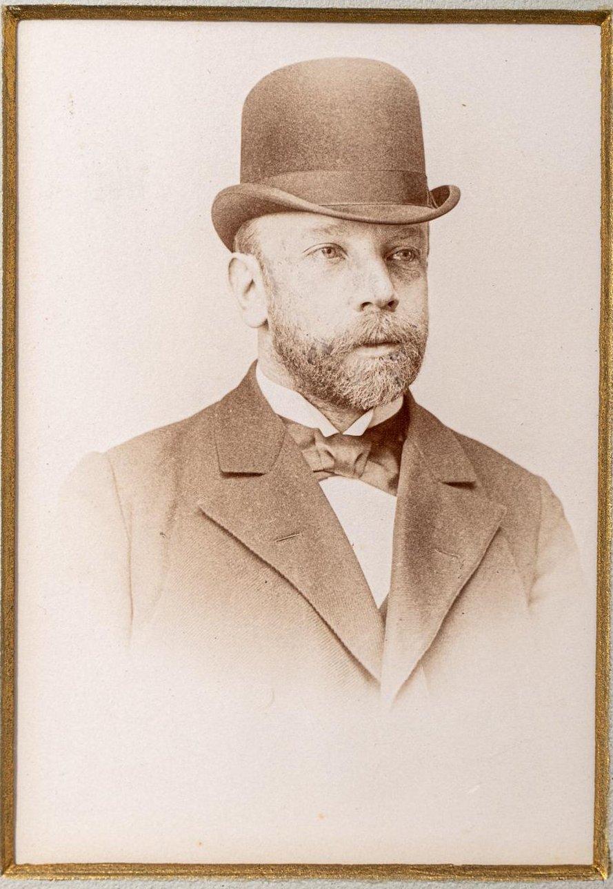 Портрет архитектора В.В.Суслова