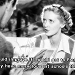 Gabrielle Maple (Bette Davis) (The Petrified Forest - Archie Mayo - 1936)