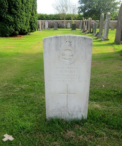 War Grave in Annan Cemetery