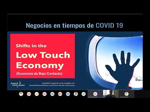 """Low Touch Economy: """"La economía de bajo contacto"""""""