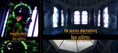 "LUX AETERNA ""Magistra Obscura"" & ""The Aurora Observatory"" @ Enchantment / C88"