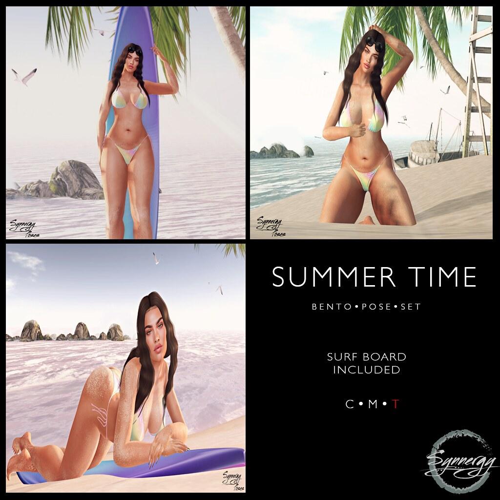 Summertime Bento Pose Set
