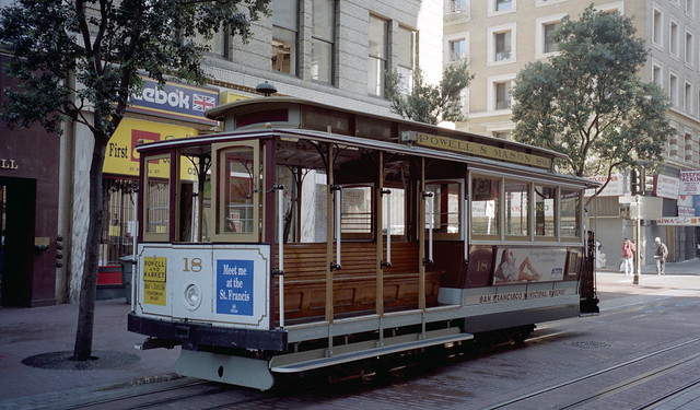 1998-07 Cable Car Nr.18 in San Francisco