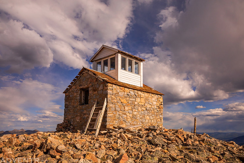 Fairview Peak Fire Lookout