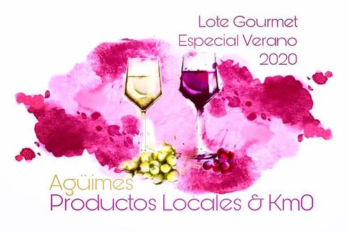 """Cartel promocional de los lotes de productos """"Un verano de 5 estrellas gastronómicas"""""""