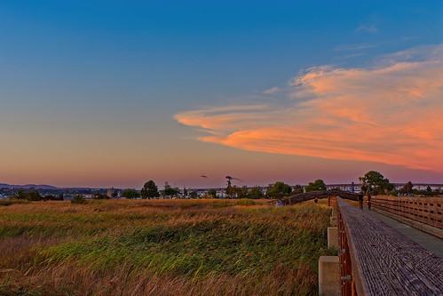 olympus omd landscape sunset