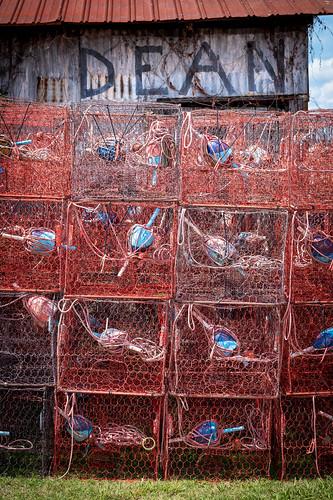 maryland crab crabpots solomons chesapeake roadtrip rustic fishing