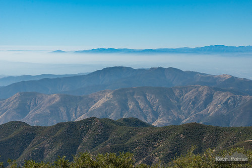 july summer nikond750 california orangecounty evening santaanamountains clevelandnationalforest modjeskapeak smog sunny blue sky tamron2470mmf28 smoggy