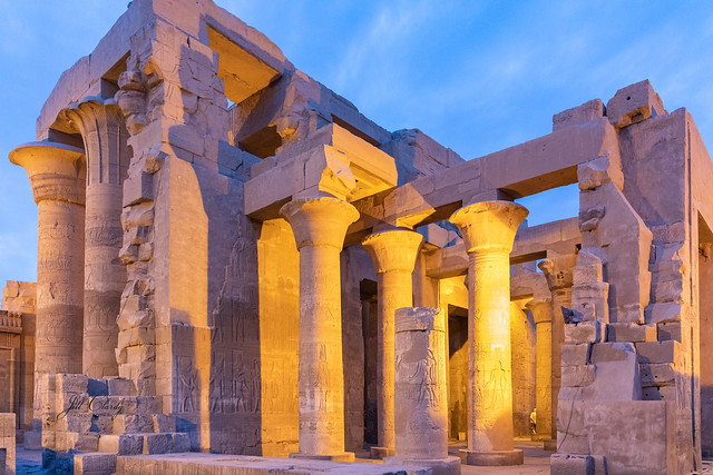 Armchair Traveling - Temple of Kom Ombo, Egypt