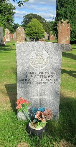 Great War Grave, Annan