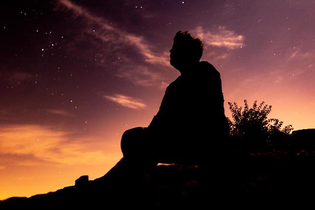 Mis pensamientos están con las estrellas
