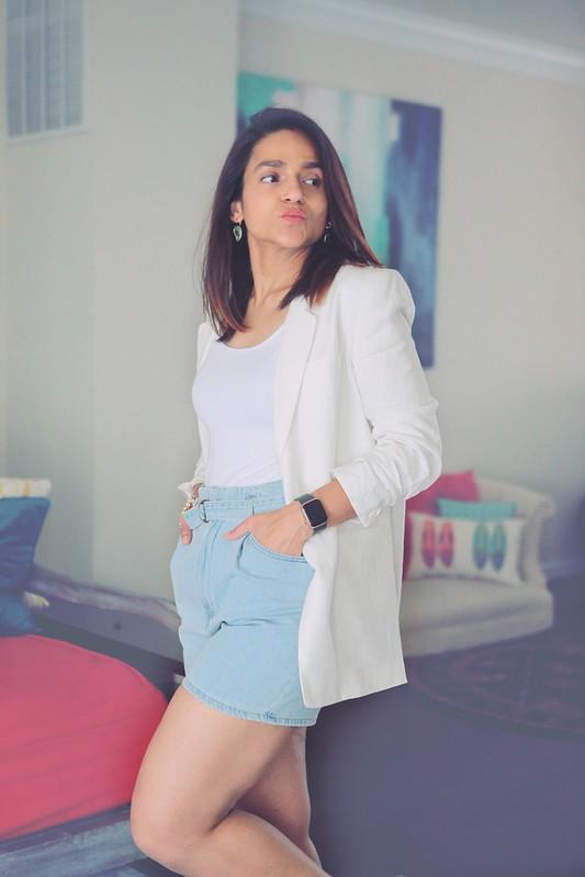 Office Chic Shorts Tanvii.com