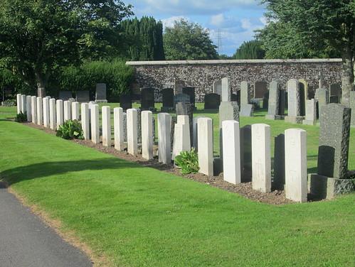 War Graves, Annan Cemetery