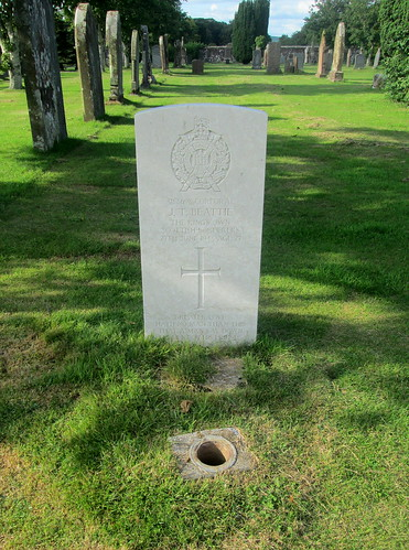 War Grave, Annan Cemetery