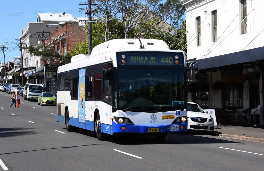 Bus 4900, Rozelle, Sydney, NSW.