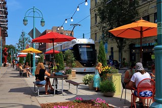 The Hop at the Milwaukee Public Market -- Emissions-Free Curbside Dining